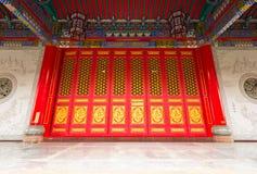 Portello di stile cinese Fotografie Stock Libere da Diritti