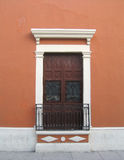 Portello e finestra fotografie stock