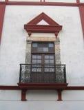 Portello e finestra Immagini Stock
