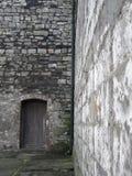 Portello e parete Immagini Stock