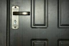Portello e serratura fotografia stock libera da diritti