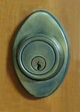 Portello e serratura Immagini Stock