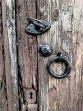 Portello Locked fotografia stock libera da diritti