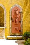 Portello nel palazzo di Pena, Portogallo fotografia stock