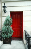 Portello rosso Fotografia Stock Libera da Diritti