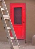 Portello rosso Fotografie Stock