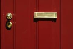 Portello rosso Immagine Stock Libera da Diritti