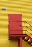 Portello rosso Fotografie Stock Libere da Diritti