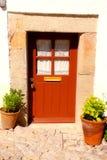 Portello rosso dell'annata (Portogallo) Fotografia Stock Libera da Diritti