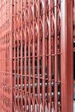 Portello scorrevole della griglia antica Fotografie Stock Libere da Diritti