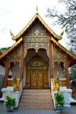 Portello tailandese del tempiale buddista Fotografia Stock