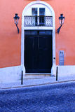 Portello tipico di Lisbona Immagini Stock Libere da Diritti