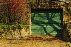 Portello verde Fotografia Stock Libera da Diritti