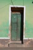 Portello verde Immagini Stock