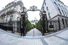 Porten arkivfoto