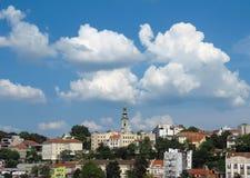Porten av Belgrade royaltyfri bild