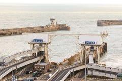 Porten av Dover i Kent United Kingdom royaltyfri fotografi