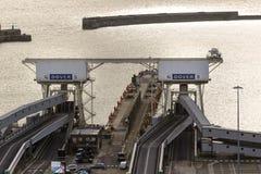 Porten av Dover i Kent United Kingdom fotografering för bildbyråer