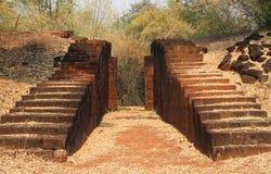 Porten för forntida stad Royaltyfri Fotografi