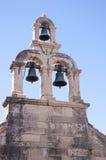 Porten i den Walled staden av Dubrovnic i Kroatien Europa Dubrovnik ge någon ett smeknamn `-pärlan av Adriatiska havet Fotografering för Bildbyråer