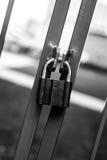 Porten låsas Arkivfoto