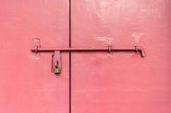 Porten låser Royaltyfria Foton
