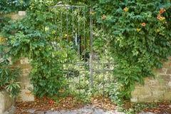 porten låste Royaltyfria Bilder
