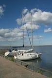 PortEngure Ostsee Kurzeme Lettland Europa Lizenzfreies Stockfoto
