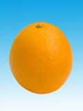 Portent des fruits une orange image libre de droits