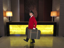 Porter, Baggage Handler, Hotel Clerk, Luxury Resort Worker Royalty Free Stock Images