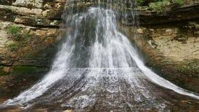 Porter Cave Falling Water Loop stock video footage