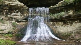 Porter Cave Falls Loop almacen de metraje de vídeo
