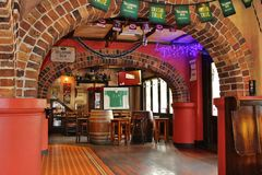 The Porter House Irish Pub. Is a cozy pub in Surry Hills in Sydney Stock Photography