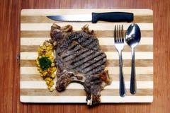Porter House Steak Royalty Free Stock Photo