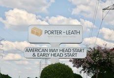 Porter Leath Better Children Better Families royalty-vrije stock foto's