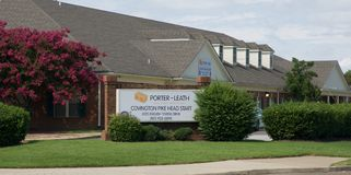 Porter-Leath Head Start Building Photos libres de droits