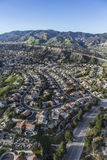 Porter Ranch Homes in the San Fernando Valley Stock Images