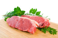 Porterhouse Steak Stock Photo
