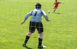 Portero del fútbol Imagenes de archivo