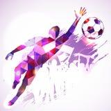 Portero del fútbol Imagen de archivo