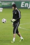 Portero del fútbol - Petr Cech Fotografía de archivo libre de regalías