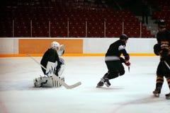 Portero del hockey Fotos de archivo libres de regalías