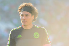 Portero mexicano Guillermo Ochoa durante Copa América Centenari Imagen de archivo libre de regalías