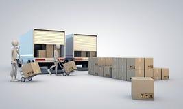 Porters Stock Photo