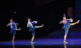 "The porters-Dance drama ""The Dream of Maritime Silk Road"" Stock Photos"