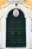 Portes à Rome, Italie images stock