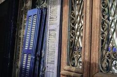Portes photo stock