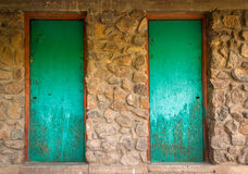 portes Photo libre de droits