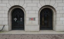 2 portes Photos libres de droits