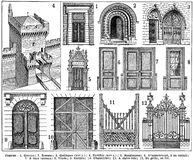 portes Royalty Free Stock Photography